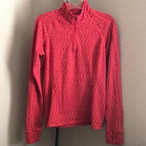 REI warm long sleeve red shirt medium